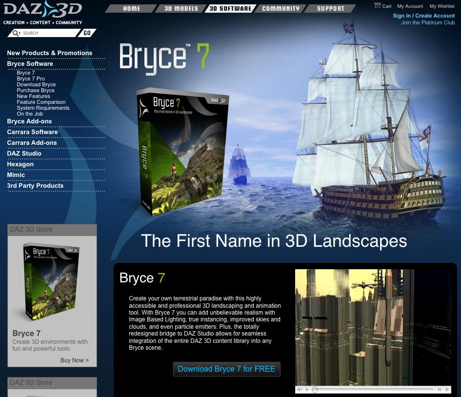 Bryce 7