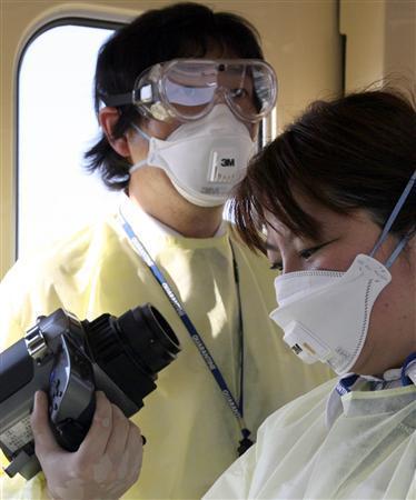 新型インフルエンザの検疫官