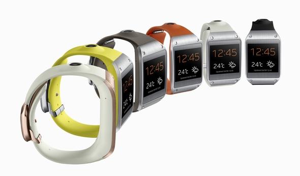 Samsung、カメラ付き腕時計型端末「GALAXY Gear」