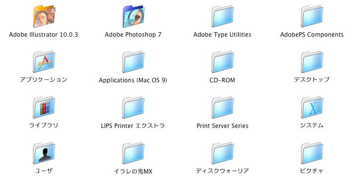 MAC OS X(10.4)