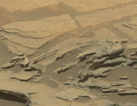 火星のスプーンの拡大図