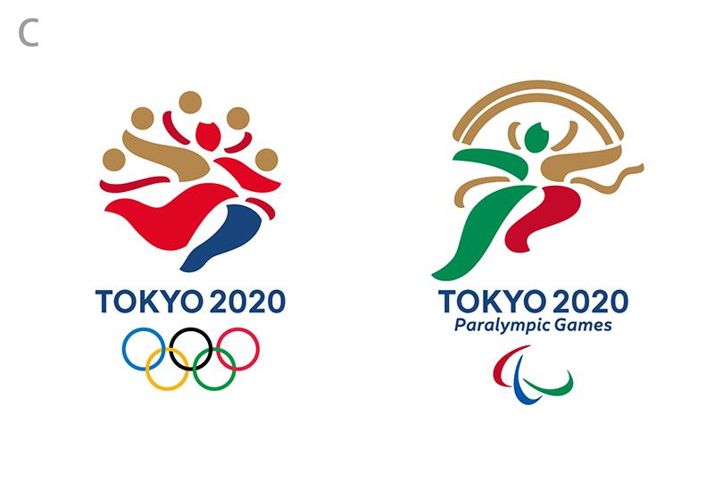 東京2020大会エンブレム最終候補(C)