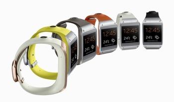 Samsungの腕時計型デバイス、意外性がまったく感じられず