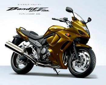 スズキの新しいバイク
