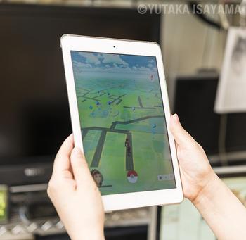 iPadでポケモンGO