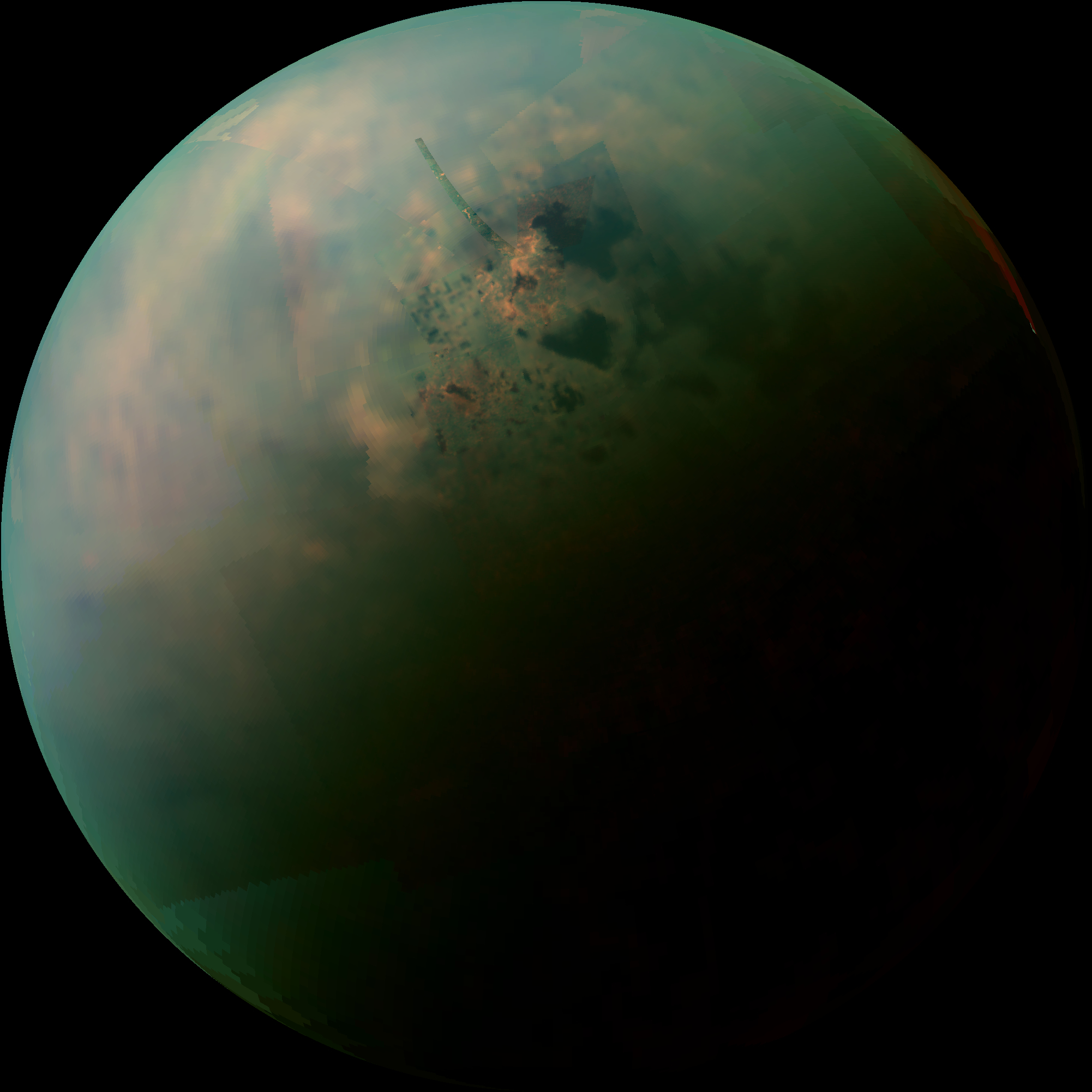 Titan's Northern Lakes: Salt Flats?