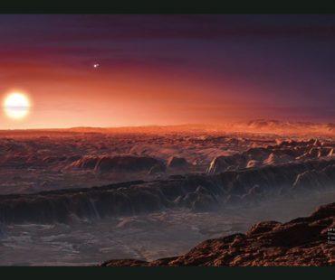 太陽系から11光年先に地球型惑星