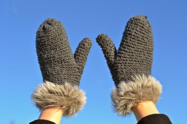 手袋をしよう