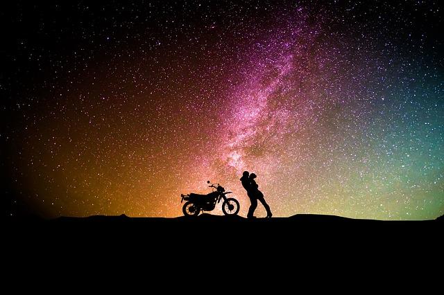 宇宙の中の人類