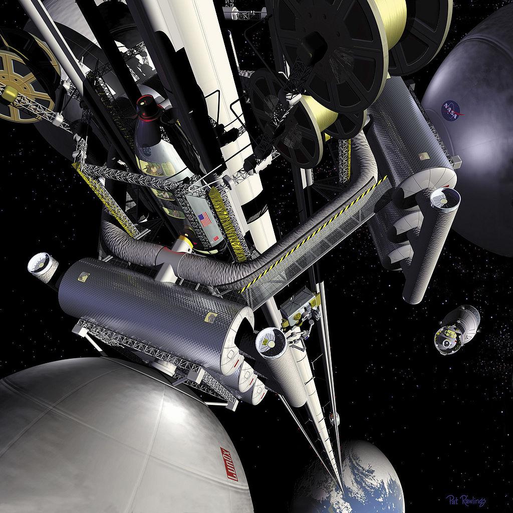 軌道エレベータのミニチュア版の実験をISSで実施予定