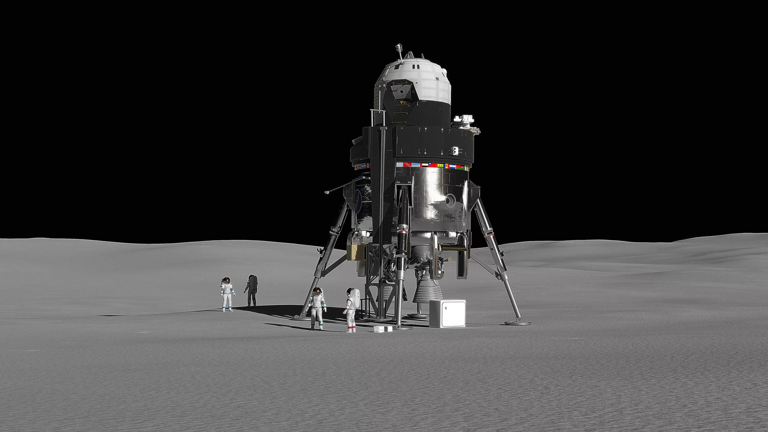 ロッキード・マーチンが「月着陸船」構想を発表