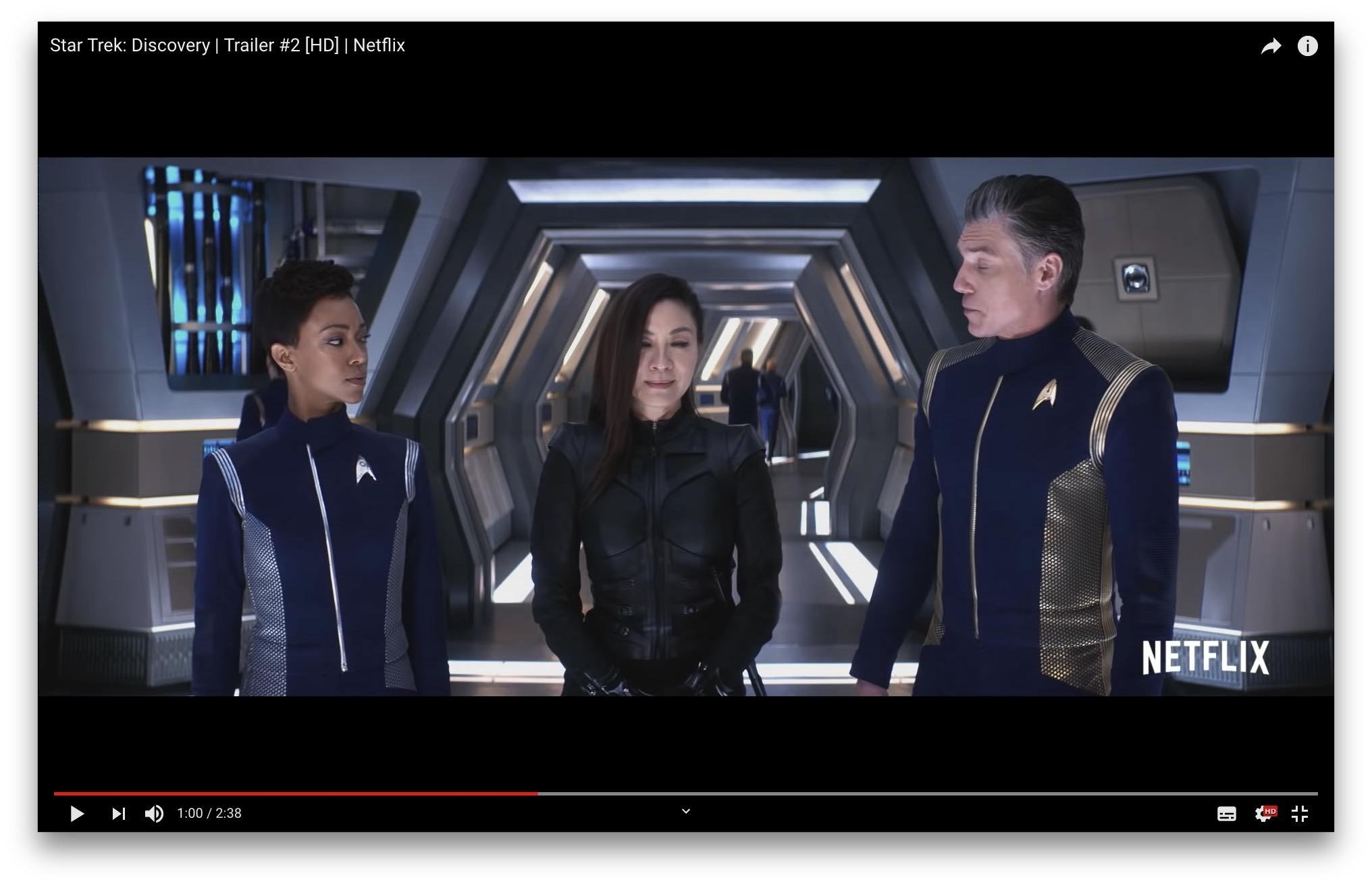 Star Trek: Discoveryのセカンドシーズンは2019年1月から