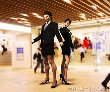 ハイヒール問題(#KuToo)→男にもハイヒールを履かせる