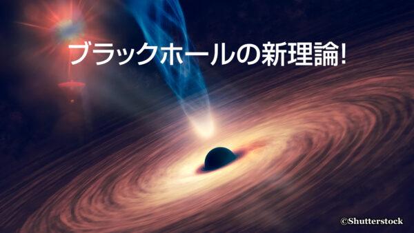 ブラックホールの新理論!
