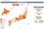 東京の現在感染者数